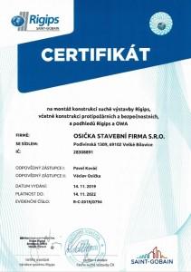 certifikat-rigips-kováč-a-osička