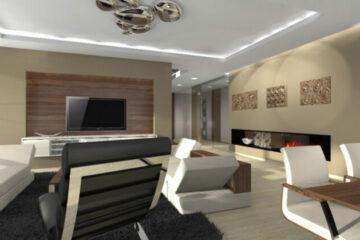 Projekty interiérů a exteriérů
